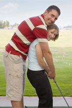 Mature golf dating partners